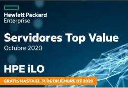 Top Value HPE servidores y almacenamiento octubre 2020